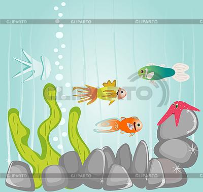 Życie morskie | Klipart wektorowy |ID 3073290