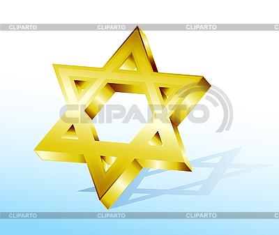 Golden Star of David | Stock Vector Graphics |ID 3073945