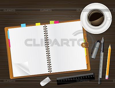 Tagebuch mit Foto | Stock Vektorgrafik |ID 3159548