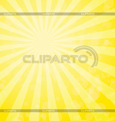 Abstract background with yellow rays | Klipart wektorowy |ID 5500017