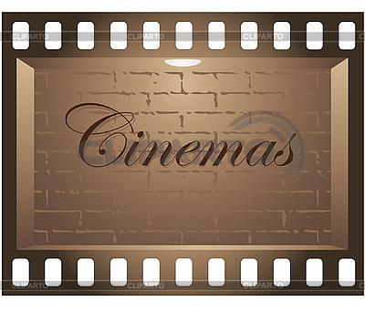 Cinema Board | Stock Vector Graphics |ID 3045526