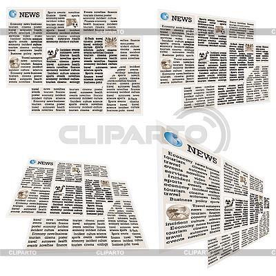 Коллекция газет | Иллюстрация большого размера |ID 3045603