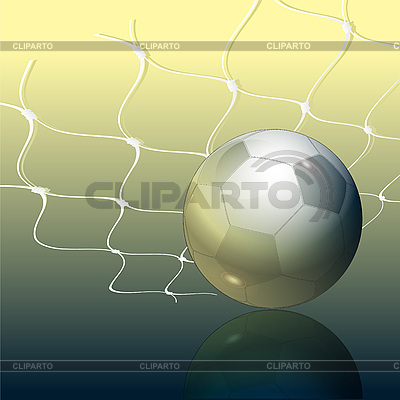 Soccer ball and grid | High resolution stock illustration |ID 3045609