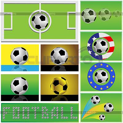 Soccer balls | Stock Vector Graphics |ID 3071926