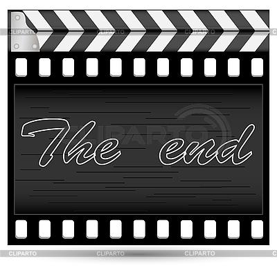 Movie clapper-board | Stock Vector Graphics |ID 3074805