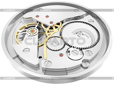 Mechanizm zegarów | Stockowa ilustracja wysokiej rozdzielczości |ID 3063038