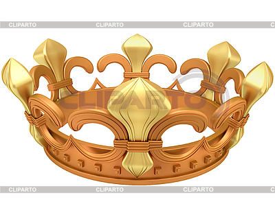 Gold crown | High resolution stock illustration |ID 3063042