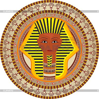 Египетский фараон | Векторный клипарт |ID 3064006
