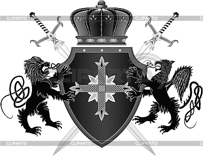 Medieval coat of arms | Stock Vector Graphics |ID 3071190
