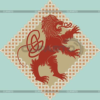 Medieval heraldic lion   Stock Vector Graphics  ID 3071191