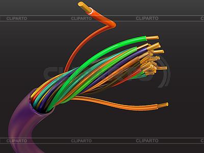 Stromkabel | Stock Vektorgrafik |ID 3082891