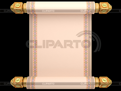 Manuskript-Rolle | Illustration mit hoher Auflösung |ID 3082897