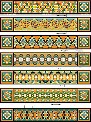 Ornaments in Celtic style | Stock Vector Graphics |ID 3093077