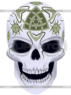 Death with celtic tattoo | Stock Vector Graphics |ID 3093723