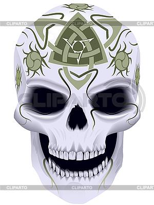 Tod mit keltischem Tattoo | Stock Vektorgrafik |ID 3093723