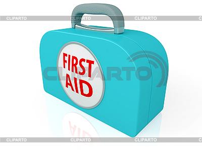 Zestaw pierwszej pomocy | Stockowa ilustracja wysokiej rozdzielczości |ID 3111901
