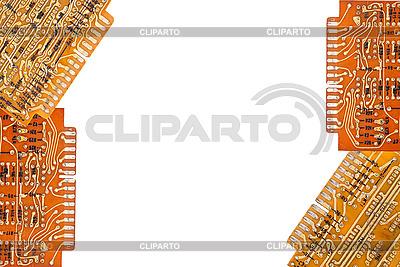Elektronische Platten als Rahmen | Foto mit hoher Auflösung |ID 3039975