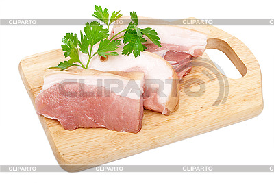 Raw pork sliced | High resolution stock photo |ID 3040300