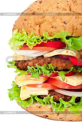 Großer Hamburger | Foto mit hoher Auflösung |ID 3044210