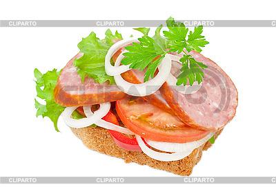 Sausage sandwich  | High resolution stock photo |ID 3044212