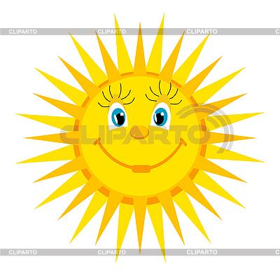 Cartoon sun | Stock Vector Graphics |ID 3051773