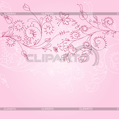 Floral ornament | Stock Vector Graphics |ID 3051792