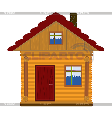 Wooden house | Stock Vector Graphics |ID 3051840