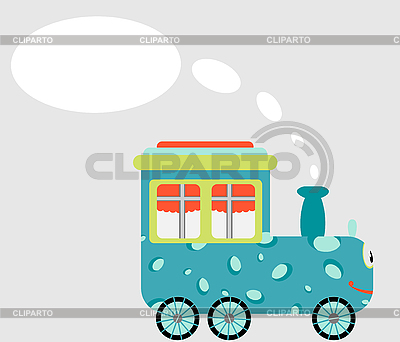 Cartoon train | Stock Vector Graphics |ID 3058108