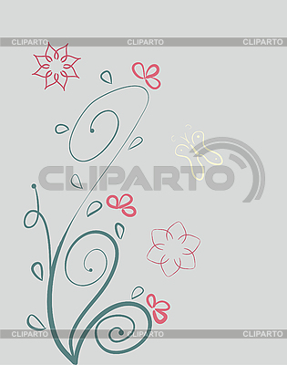 Florales Design | Stock Vektorgrafik |ID 3069509