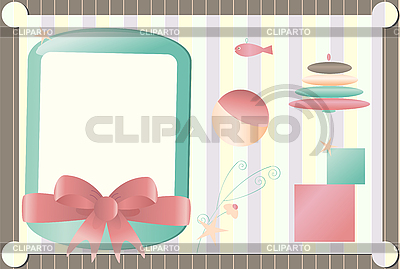 Baby arrival announcement | Stock Vector Graphics |ID 3069544