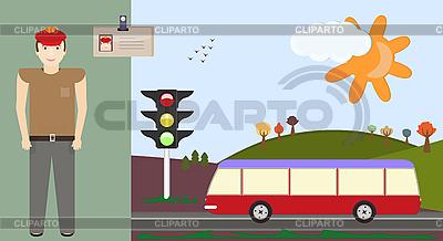Driver   Stock Vector Graphics  ID 3069585