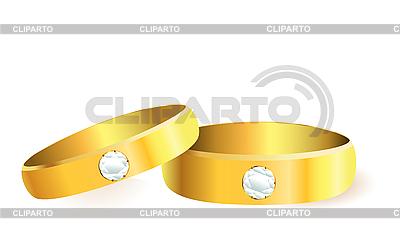다이아몬드 결혼 반지 | 벡터 클립 아트 |ID 3106405