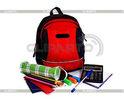 School backpack | High resolution stock photo |ID 3041256
