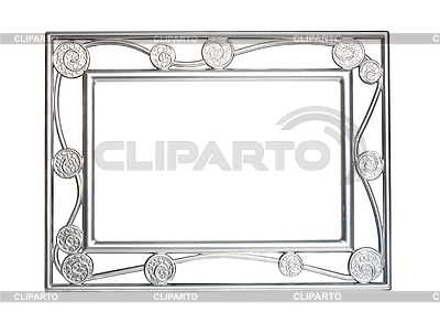 Silver frame for pictures | High resolution stock photo |ID 3041277