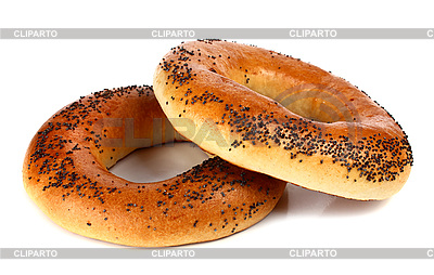 Bagel with poppyseeds | High resolution stock photo |ID 3042224