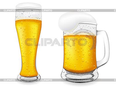 Dzbanki piwa | Klipart wektorowy |ID 3045041
