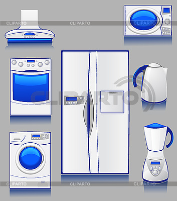 Haustechnik für eine Küche | Stock Vektorgrafik |ID 3045075