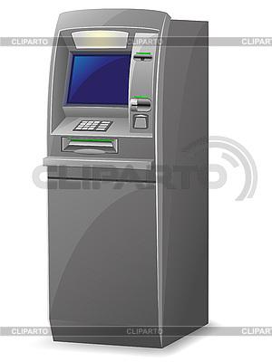 Cajero automático   Ilustración vectorial de stock  ID 3138229