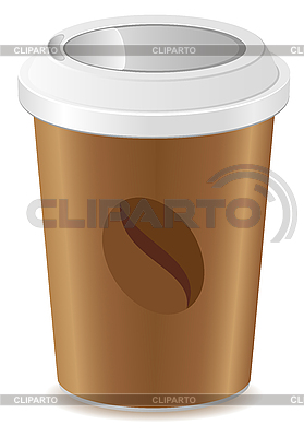 Paper cup with coffee | Stock Vector Graphics |ID 3156299