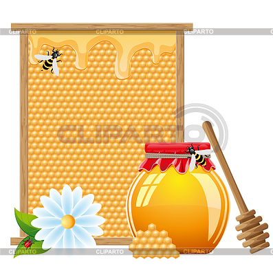 Natural honey | Stock Vector Graphics |ID 3331025