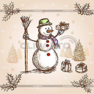 Christmas card | Stock Vector Graphics |ID 3045193