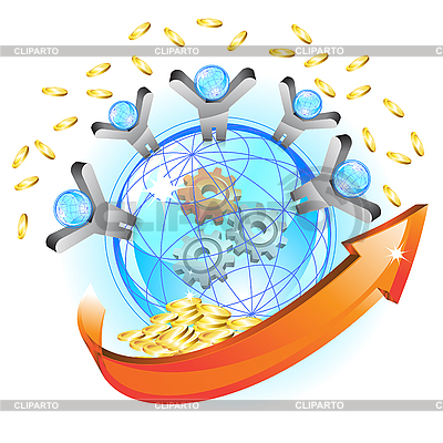 Business concept   Stock Vector Graphics  ID 3045700