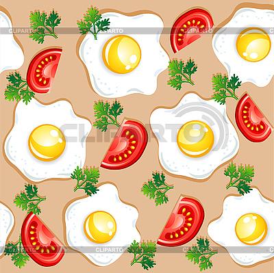 Seamless breakfast pattern | Stock Vector Graphics |ID 3045722