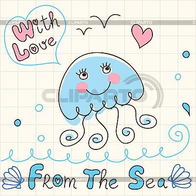 Jellyfish | Stock Vector Graphics |ID 3045763