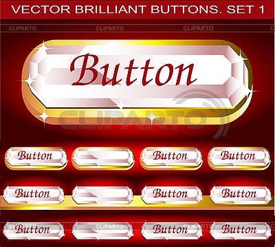 Genialny przyciski | Klipart wektorowy |ID 3046041