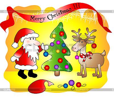 Christmas card | Stock Vector Graphics |ID 3046329