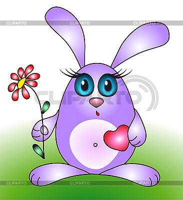 Mały królik | Klipart wektorowy |ID 3046407