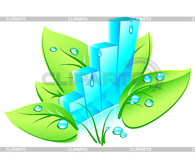 3d eco chart | Stock Vector Graphics |ID 3053192