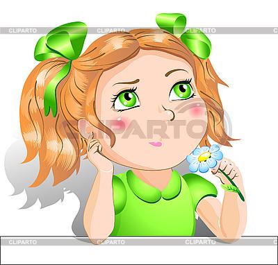 Little girl | Stock Vector Graphics |ID 3058727