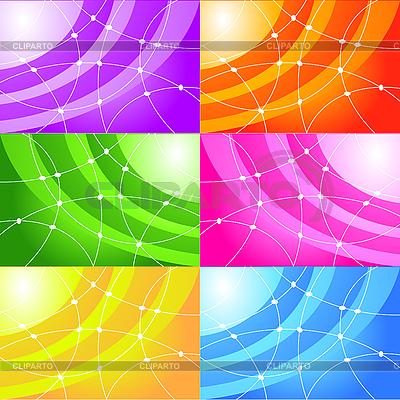 一套抽象的背景 | 向量插图 |ID 3073483
